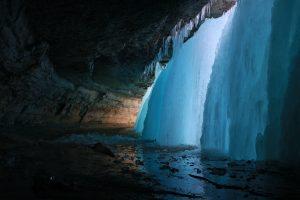 Minnehaha Falls Frozen – Minneapolis