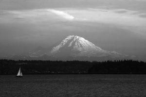Mt Rainier – from Seattle
