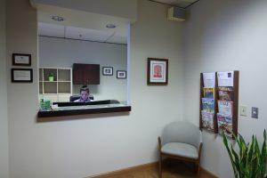 Seattle Smiles Dental – Reception Area