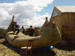 Reed Boat Building – Lake Titicaca