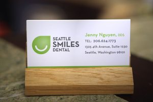 Seattle Smiles Dental – Business Card