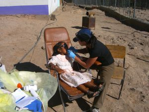 Copper Canyon, Mexico – Dr. Nguyen Treating Tarahumara Indian Children