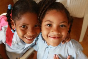 Dominican and Haitian schoolchildren received dental services
