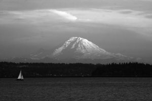 Mt Rainier – from Seattle