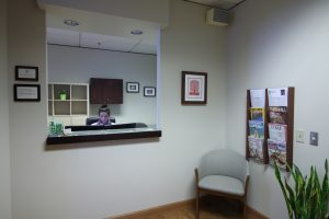 Seattle Smiles Dental – Reception Area
