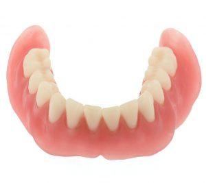 Full lower denture