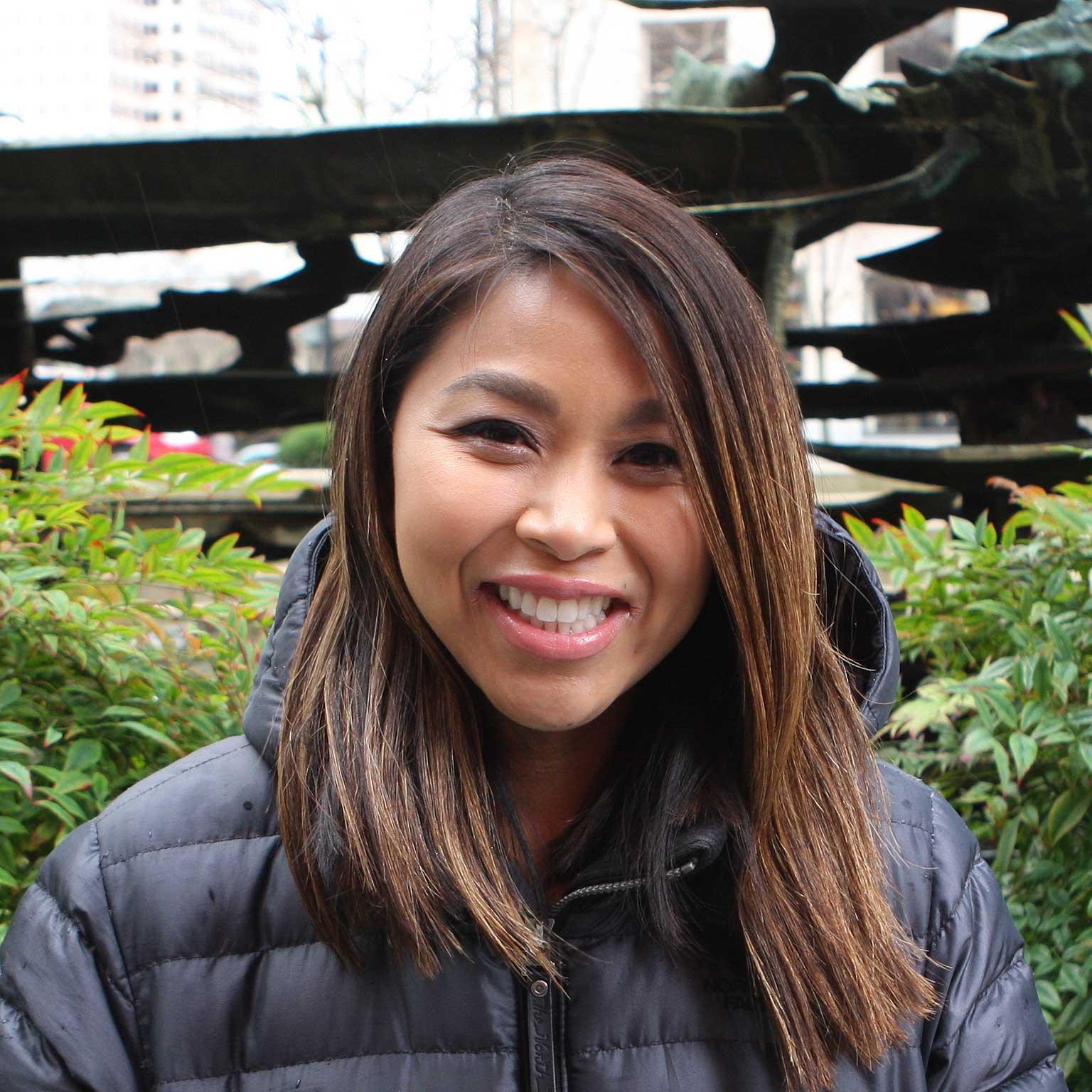 Anna Onewein hygienist smiling
